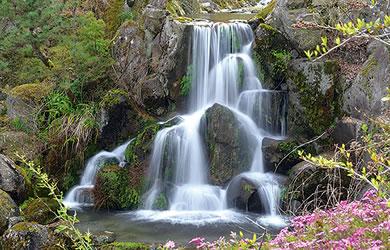 祥華 名物の滝
