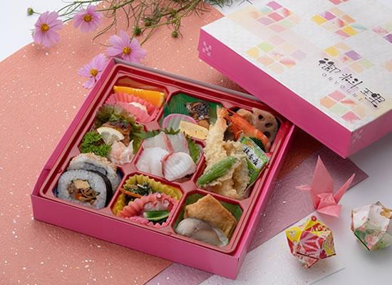 お料理パック膳(1,620円)